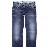 niebieskie dżinsy Big Star wytarte - jesień-zima 2010/2011