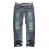 niebieskie dżinsy Big Star z przetarciami - jesień/zima 2011/2012