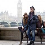 niebieskie dżinsy Pepe Jeans - jesień-zima 2012/2013