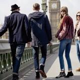 niebieskie dżinsy Pepe Jeans - z kolekcji jesień/zima 2012/2013
