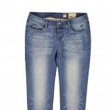 niebieskie dżinsy Reporter wytarte - trendy wiosna-lato
