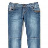 niebieskie dżinsy Reserved - wiosna/lato 2011