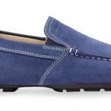 niebieskie mokasyny Geox - trendy wiosna-lato