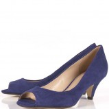 niebieskie pantofle Topshop - kolekcja wiosenno/letnia