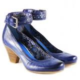 niebieskie pantofle Venezia - wiosna-lato 2011