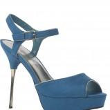 niebieskie sandałki New Look - zima 2011/2012