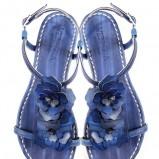 niebieskie sandałki Venezia - lato 2011