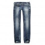 niebieskie spodnie Big Star z przetarciami dżinsowe - moda 2011