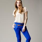 niebieskie spodnie Heppin - wiosenna kolekcja