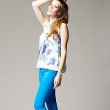 niebieskie spodnie Heppin - wiosna 2012