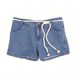 niebieskie szorty Clarks z kieszonkami - lato 2012