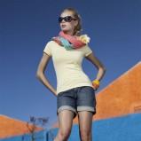 niebieskie szorty Greenpoint dżinsowe - wiosna-lato 2011