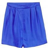 niebieskie szorty H&M szerokie - lato 2012