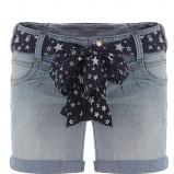 niebieskie szorty Tally Weijl dżinsowe - lato 2011