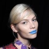 Niebieskie usta