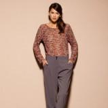 Niesamowita szare spodnie Motivi luźne  jesień- zima 2012/13