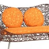 Nietypowa kanapa pomarańczowa Murillo