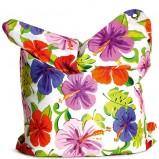 Nowoczesna poduszka w kolorowe kwiaty -  Shopalike 2013