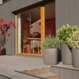 Nowoczesne donice ogrodowe Swisseform - zdjęcie