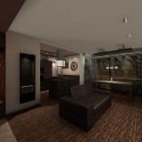 Nowoczesne meble salon Marek Myszkowski -modne mieszkanie