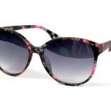 okulary przeciwsłoneczne Moodo w kwiaty - moda plażowa 2013