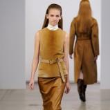ołówkowa spódnica Calvin Klein w kolorze brązowym - moda na jesień i zimę 2013/14