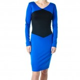 ołówkowa sukienka Grey Wolf w kolorze niebieskim - kolekcja damska