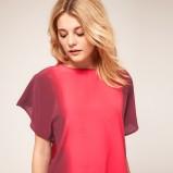 ombre bluzeczka Asos w kolorze różowym - trendy na zimę