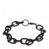 oryginalna bransoletka Top Secret w kolorze czarnym - męskie dodatki 2013