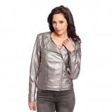 oryginalna kurteczka C&A w kolorze srebrnym - moda 2013