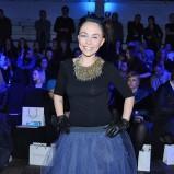 oryginalna spódnica w kolorze niebieskim - Pati Sokół