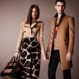 oryginalna spódniczka Burberry - moda na jesień 2012