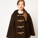 oversize płaszcz Asos w kolorze brązowym - jesień-zima 2012/2013