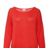 oversize sweterek Solar w kolorze czerwonym - moda na wiosnę i lato 2013