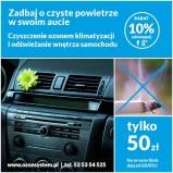 Ozonowanie pomeiszczeń i aut w Kielcach