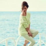 pastelowy sweterek F&F - moda na wiosnę i lato 2013