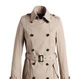 Piękna beżowa kurtka ESPRIT z kołnierzem  jesienno-zimowa 2012/13
