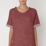 Piękna bordowa bluza Oysho w kropki kolekcja jesienno-zimowa