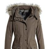 Piękna brązowa kurtka ESPRIT z kapturem kolekcja na jesień i zimę 2012/13