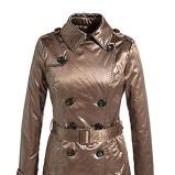 Piękna brązowa kurtka ESPRIT z paskiem jesień/zima 2012/2013