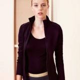Piękna czarna bluza Oysho sportowa kolekcja jesienno-zimowa