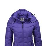 Piękna fioletowa kurtka ESPRIT pikowana  jesienno-zimowa 2012/13