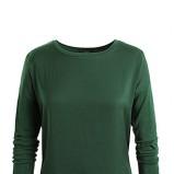 Piękny ciemnozielony sweter ESPRIT z kolekcji jesień/zima 2012/2013