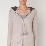 Piękny szary sweter Oysho zapinany HIT 2012/2013