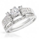 pierścionek Michelson dwuczęściowy