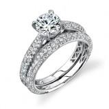 pierścionek SimonG. dwuczęściowy