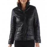 pikowana kurtka Camaieu w kolorze czarnym - jesień i zima 2013/14