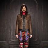 pikowana kurtka Just Cavalli w kolorze brązowym - moda na zimę 2013/14