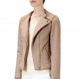pikowana kurtka Reserved w kolorze brązowym - jesień i zima 2013/14