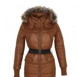pikowana kurtka Troll w kolorze granatowym - jesień-zima 2012/2013
